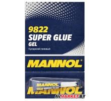 Суперклей гелевый Mannol 9822  GEL Super Glue 3 г Литва