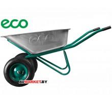 Тачка строительная ECO WB6418S-2 (120л, 300кг, 2 пневмоколеса 4.00-8)