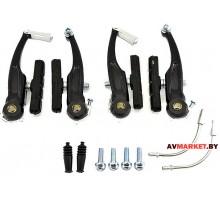 Тормоз V-Brake HW 150082-B черный 1168