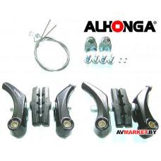 Тормоза ALHONGA Hj-924 CANTILEVER черный