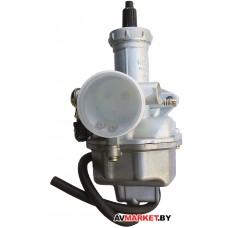 Карбюратор PZ27 125-200CC (ручной обогатитель) для китайского мотоцикла CG125