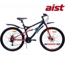 """Велосипед горный Aist Avatar Disc-  26"""" черно-красный (17,5) 4810310003198"""