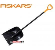 Лопата снеговая FISKARS Solid 455х360 мм арт 1026794 Россия