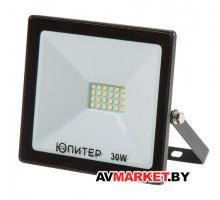 Прожектор светодиодный 30Вт 6500K  IP64 ЮПИТЕР артJP1201-30 Китай