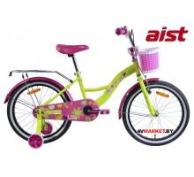 """Велосипед 20"""" двухколёсный для детей Aist LILO жёлтый 2019 4810310004065 Китай"""