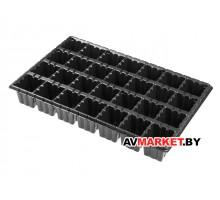 Кассета для рассады пластмасс квадратная 28 ячеек 250 мл PERFECTO LINEA арт K28/250 (Россия)