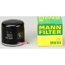 Фильтр масляный MANN MW64 (OC575) KAWAS moto