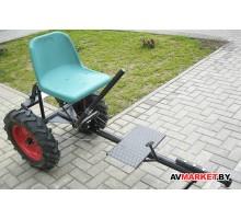 Адаптер для мотоблоков Беларусь модели AM 03903 + колеса пневмо 5,00-12 АГ отв. 4/10/70/110 A03690