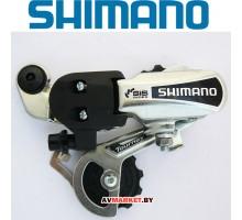 Переключ задний SHIMANO TOYRNEY TY21-A,SS, 6ск крепление на болт цв.серебро без уп. 3400
