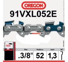 Цепь 35 см 14 OREGON 3/8 LP 1.3 мм 52зв. 91VXL052E  Бельгия США
