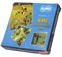 Цепь KMC Z7 (аналог Z-50) хром. 116 звеньев