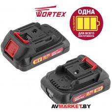 Аккумулятор WORTEX CBL 1820 18.О B 2.0 А/ч Li-lon ALL1 CBL18200029  Китай