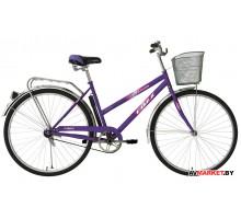 Велосипед Foxx 28 FIesta 20 женский цвет фиолетовый 28SHL.FIESTA.VL9 Россия