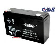 Аккумулятор CASIL CA6120 6V 12Ah