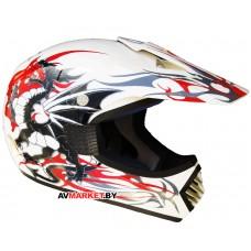 Шлем кроссового типа RACER R-350