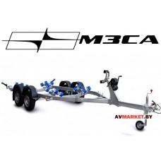 Прицеп МЗСА-81773G.023 (L-6,0 м, 2-осный, РОЛИКИ) для лодок и катеров