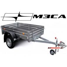 Прицеп МЗСА-817710.001-05 (185х123 см, борт 29 см) для дачи