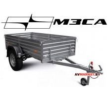 """Прицеп МЗСА-817701.016 (245х123 см, борт 47 см) """"OFF-ROAD"""" для дачи, охоты и рыбалки (с высоким борт"""