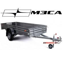Прицеп МЗСА-817711.001-05 (312х137 см, борт 29 см) для транспортировки снегоходов и другой мототехни