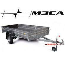 Прицеп МЗСА-817712.001-05 (312х151 см, борт 29 см) для мототехники и других грузов