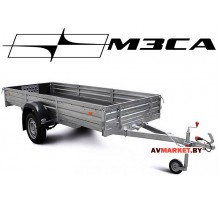 Прицеп  МЗСА-817715.001-05 (345х137 см, борт 29 см) для перевозки снегоходов и квадроциклов