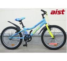 """Велосипед 20"""" двухкол для подростков Aist Serenity 1.0 сине-голуб 4810310005345 2019"""