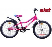"""Велосипед 20"""" двухкол для подростков Aist Serenity 1.0 ярко-розов 4810310006397 2019"""