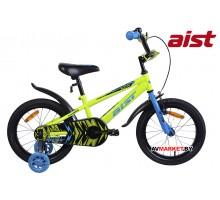 """Велосипед 16"""" детский Aist PLUTO жел 4810310003617 двухкол 2019"""