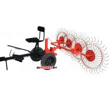Ворошилка BM4 колесно-пальцевая для мотоблока