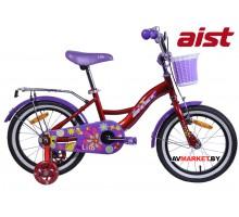 """Велосипед 16""""двухколесный для детей Aist LILO красный 2020 4810310007462"""