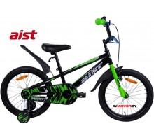 """Велосипед 18"""" двухколесный для детей Aist PLUTO черный 2020 4810310007639"""