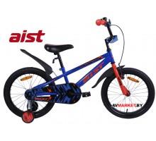 """Велосипед 20"""" двухколесный для детей Aist PLUTO синий 2020 4810310007677"""