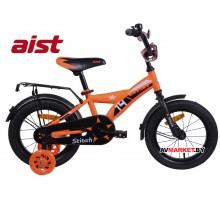 """Велосипед 14"""" двухколесный для детей Aist STITCH оранжевый 2019 4810310003853"""