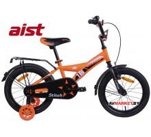 """Велосипед 16"""" двухколесный для детей Aist STITCH оранжевый 2020 4810310007714"""