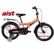 """Велосипед 18"""" двухколесный для детей Aist STITCH оранжевый 2019 4810310003914"""