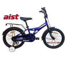 """Велосипед 18"""" двухколесный для детей Aist STITCH синий 2020 4810310007752"""
