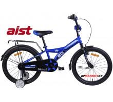 """Велосипед 20""""двухколесный для детей Aist STITCH синий"""