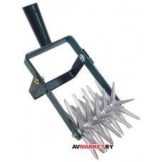 Культиватор ручной 5 зв сталь/алюминий без черенка Украина УТ000000698