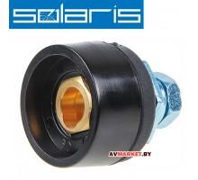 Разъем сварочный панельный 10-25мм2 DX25 Solaris (мама) артWA-2475 Китай