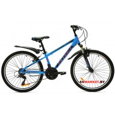 Велосипед  двухколесный FAVORIT модель MASTER 20 Китай (черно-голубой оранжево-голубой)