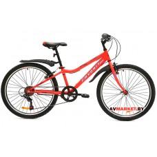 Велосипед  двухколесный FAVORIT модель FOX 24 Китай (красно-черный, зелено-черный,сине-черный)