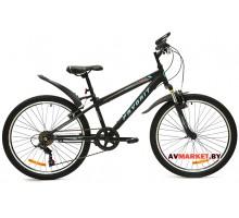 Велосипед  двухколесный FAVORIT модель BULLET 24 Китай (черно-синий, черно-оранжевый)