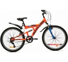 Велосипед  двухколесный FAVORIT модель JUMPER 24 Китай (в ассортим.)