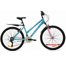 Велосипед  двухколесный FAVORIT модель ALICE 26 Китай (пурпурно-голубовато-белый розово-зеленый)
