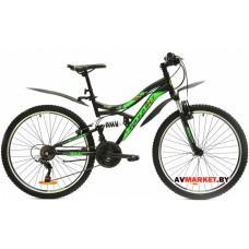 Велосипед  двухколесный FAVORIT модель SIRIUS 26 Китай (зелено-черный, сине черный)