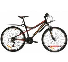Велосипед  двухколесный FAVORIT модель IMPULSE 26 Китай (черно-красный, черно-зеленый)