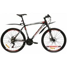 Велосипед  двухколесный FAVORIT модель PROFI 26 Китай (черно-белый, черно-синий)