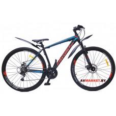Велосипед  двухколесный FAVORIT модель BULLET 29-19,5 Китай (черно-зеленый, черно-желтый)