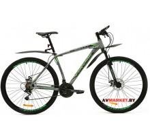 Велосипед  двухколесный FAVORIT модель BULLET 29-18 Китай (черно-серый, черно-синий)