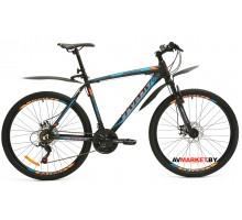 Велосипед  двухколесный FAVORIT модель PROFI 29 Китай (черно-белый, черно-голубой)